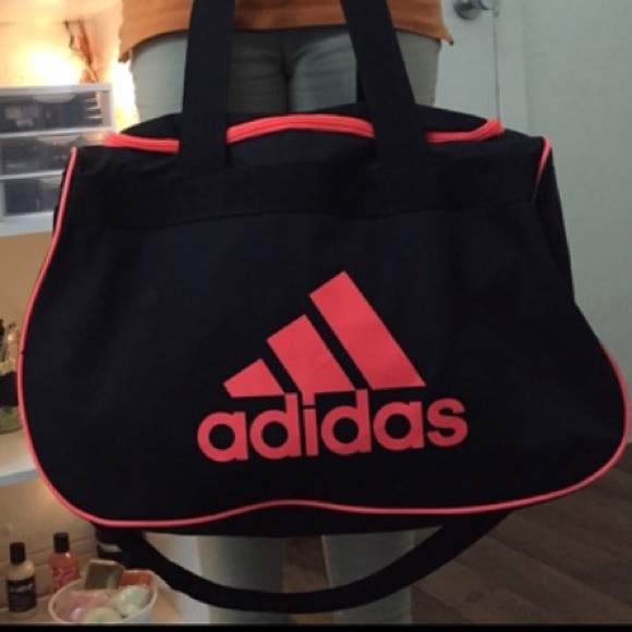 86f87cd0 ⚡️ REDUCED ADIDAS SPORT GYM BAG LARGE BLACK PINK