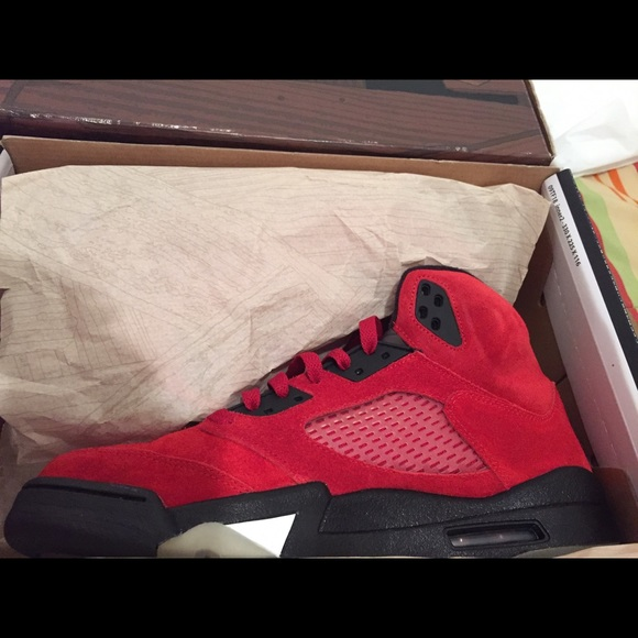 cheap for discount d8db3 7096f Raging Bull 5s VNDS SZ 9. NWT. Jordan