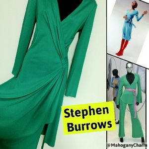 "Rare Vintage Stephen Burrows ""Fashion Icon"" BOX1"