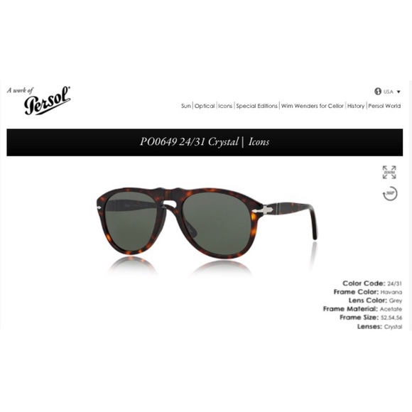 e188be876374 Persol 649 54mm classic sunglasses. M_5674e1fb36d594576b004281
