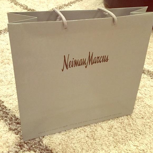 Large Neiman Marcus Shopping Bag