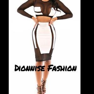 Dresses & Skirts - Top and skirt set