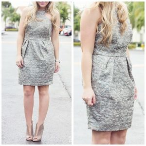 Dresses & Skirts - REDUCED❗️Multi Grey + Metallic Threads Dress