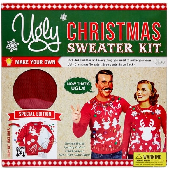Sweaters Great Gift Unisex Diy Ugly Christmas Sweater Kit Poshmark