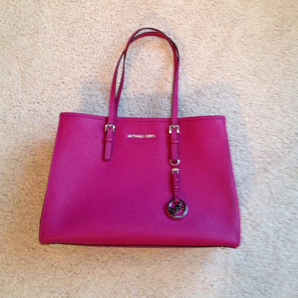 65% off Michael Kors Handbags - Just like brand new dark pink ...