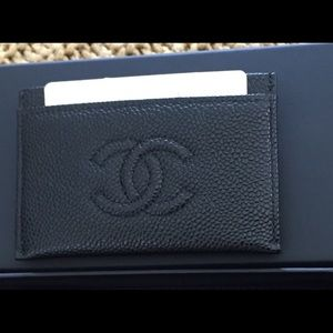 🚫SOLD🚫100% AUTH Chanel credit card holder