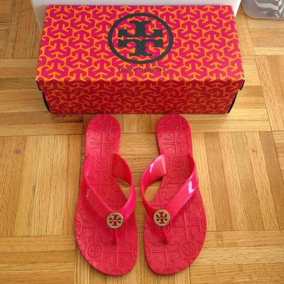 81f6987ed Tory Burch Jelly Thora sandals pink. M 56757b682ba50a024900b01e