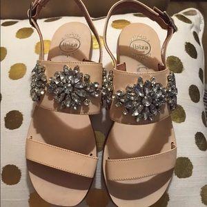60baa8ffe4fd5 Anthropologie Shoes - Jeffrey Campbell Dola Embellished 6.5 pink sandals