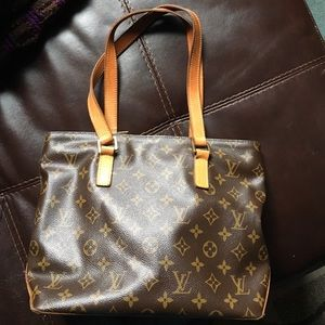 Authentic Louis Vuitton Cabas Piano handbag