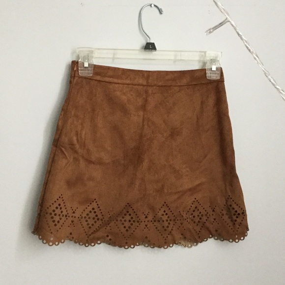 Biao Biao Fashion - Suede Mini Skirt from Sara's closet on Poshmark