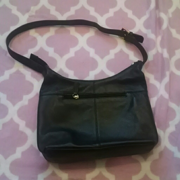 Bags Stone Mountain Black Leather Purse Poshmark