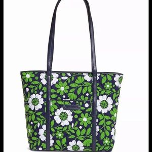 Vera Bradley Trimmed Tote Bag Luck You FLASH SALE