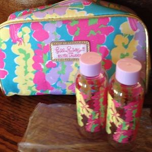 Lilly Pulitzer new cosmetic bag