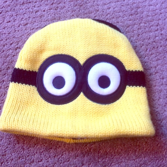 ea592d0859e Reversible Minion beanie. M 5675cb442de512fea60103a9. Other Accessories ...