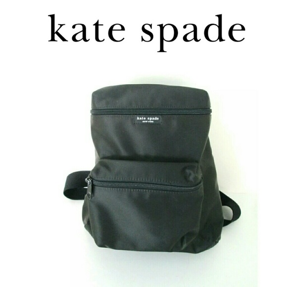 kate spade Handbags - Kate Spade black nylon mini backpack 0ae798ecce365