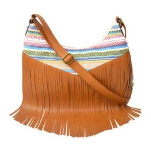NEW!! Arizona southwestern fringed crossbody