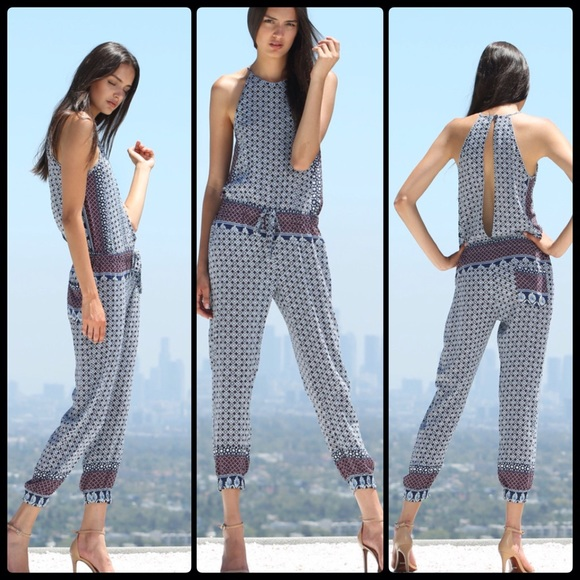 Young Fabulous Broke Pants Yfb Diego Jumpsuit Nwt Poshmark