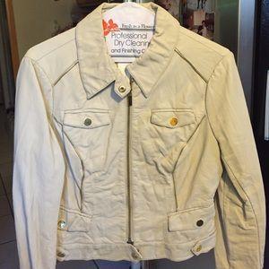 Bebe leatherette moto jacket
