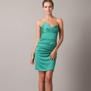Ali Ro Silk Draped Dress