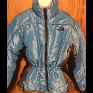 Women's  north face puffer  jacket size xl
