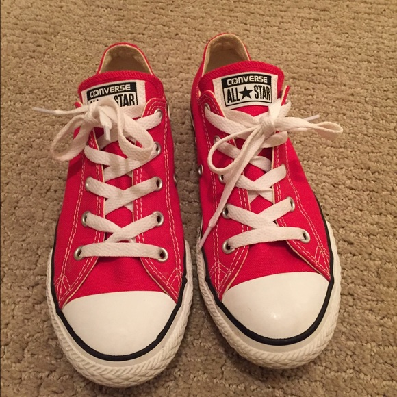 b981951fc81 Converse Other - Red Converse kids size three worn once