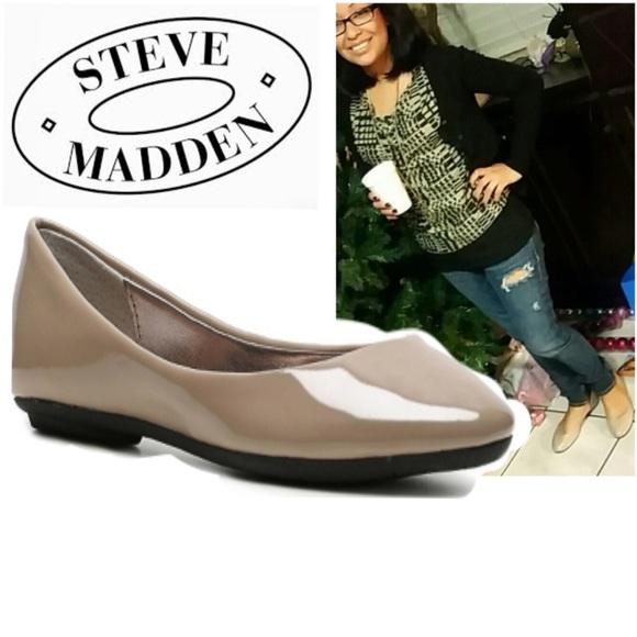 e9dcade5362 Steve Madden Heaven Patent Ballet Flat
