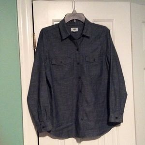 Old Navy Chambray Button-Up Shirt