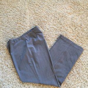 Gloria Vanderbilt Pants - Gloria Vanderbelt Grey stripe pant