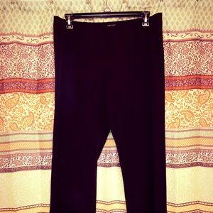 Karen Kane Pants - Karen Kane Brown Life Style Elastic Waist Pants OS
