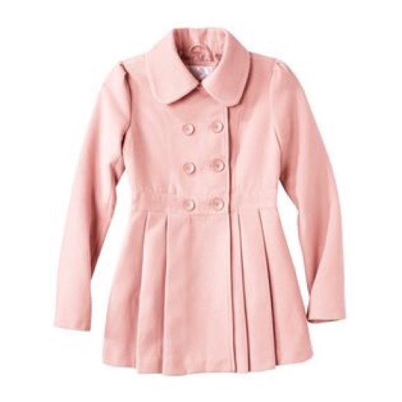 69% off Xhilaration Jackets & Blazers - light pink peacoat from ...