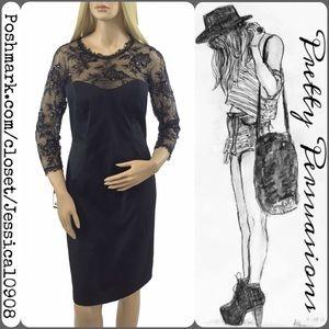 Tadashi Shoji Dresses & Skirts - NWT Tadashi Shoji Black Lace Cocktail Dress