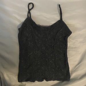 a. byer Tops - Amy Byer sexy black tank top camisole cami xs