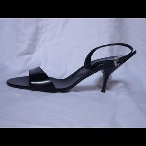 Size 11 Prada sling back sandals