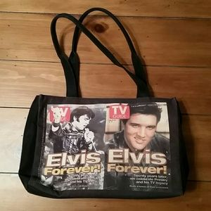 85 Off Ashley Handbags Elvis Guitar Purse From Brittney