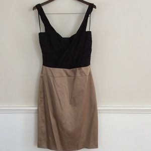 Reiss Soraya Rouched Dress