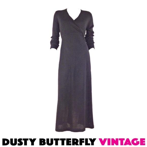 068eb6a8b358 Motherhood Maternity Dresses | Black Sweater Dress Maxi Dress Knit ...
