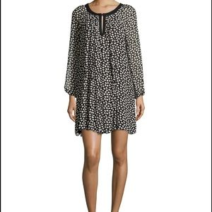 Max Studio Heart Print dress