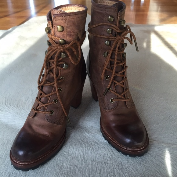 Frye Shoes | Frye Lucy Lace Up Boot