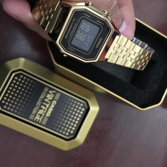 Casio vintage collection LA-680 watch 5b3da36d3be