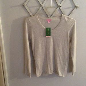 NWT Lilly Pulitzer Diana Cashmere Pullover