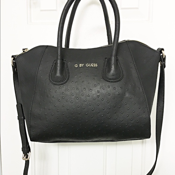 Guess Handbags - G by Guess black satchel purse bag 1d523f015d2cd