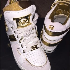 Michael Kors high top limited sneakers!