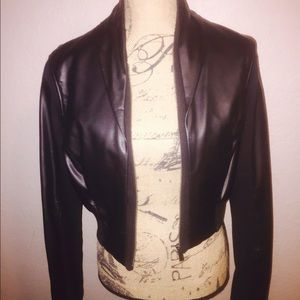 Bebe leather jacket. Excellent condition.