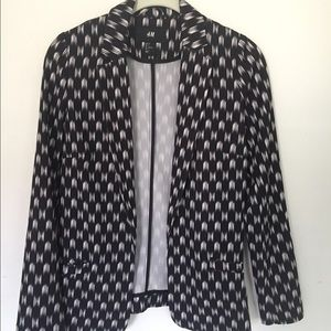 H&M patterned blazer