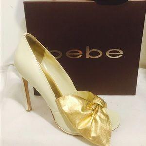 New Bebe heels in Box