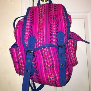 Forever 21 Handbags - Aztec tribal print backpack!💜