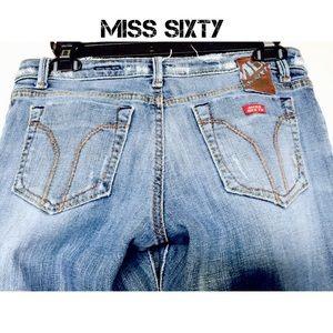 Miss Sixty distress jeans