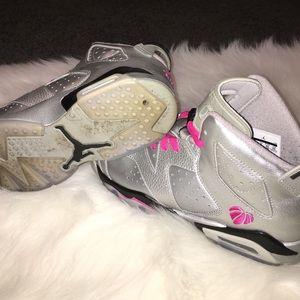 89dd968b107d Jordan Shoes - Air Jordan retro 6 Valentine s Day - youth 7