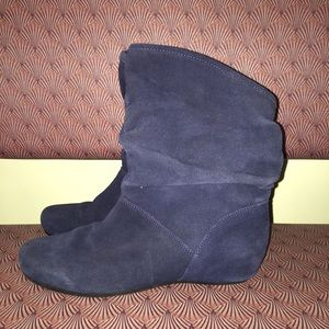 Steve Madden Suede slouchy Ankle Booties