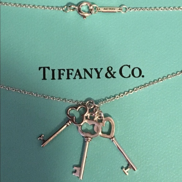 b717b136a Tiffany & Co. Jewelry | Authentic Tiffany 3 Keys Necklace | Poshmark
